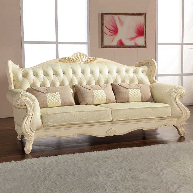Europe classic style sofa furniture oak wood carving with Bar series fabric  cover L903-in Living Room Sofas from Furniture on Aliexpress.com | Alibaba  Group