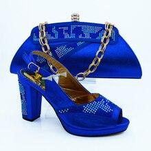 2016แฟชั่นสุภาพสตรีจับคู่รองเท้าและกระเป๋า/รองเท้าแอฟริกันและชุดกระเป๋าสำหรับในผู้หญิงปั๊มVB1-75