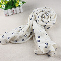 Top Brand Fashion Scarves For Women Cotton & Linen Soft Comfort Lovely Girls Shawl Dot Solid Elegant Ladies Scarf Size 170*70cm