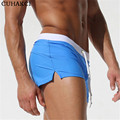High Quality Sportswear Board Shorts Mens Sexy Swimwear Shorts Low Waist Boxer Shorts Navegar Man Adjustable Board Shorts D025