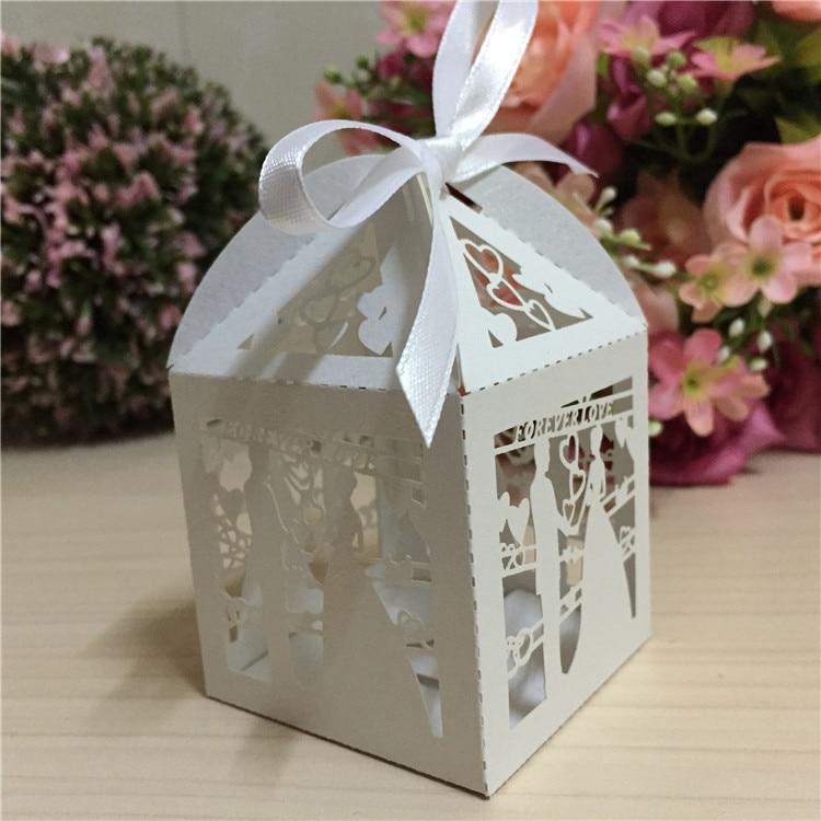 Wedding Door Gift: Bride And Groom Favour Wedding Invitation Candy Door Gift