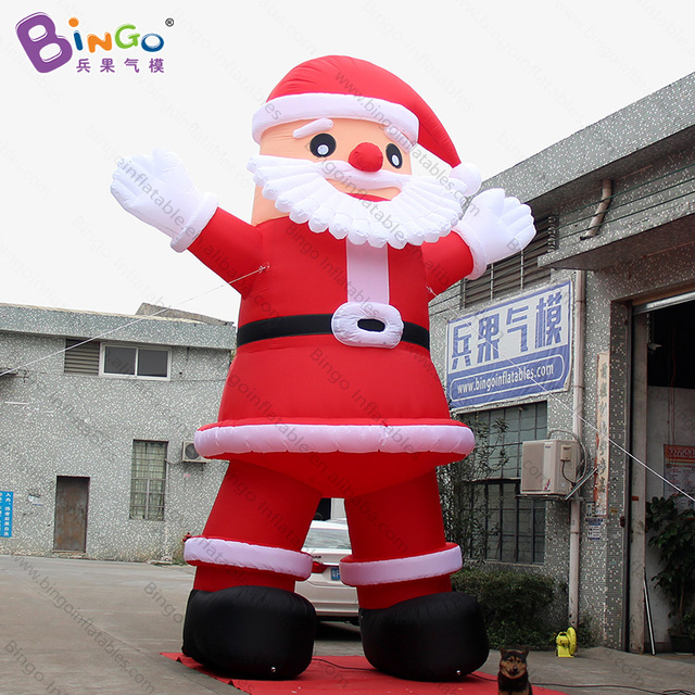 a95b32b4fef97 Hot sales 20 feet high large Inflatable Santa Claus advertising 6m tall big  old man inflatables with beard For Chrismas Day toys
