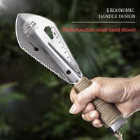 Camping Outdoor Field Shovel Sapper Garden Equipment Survival Multi Tools Accessories Portable Spade Shovels