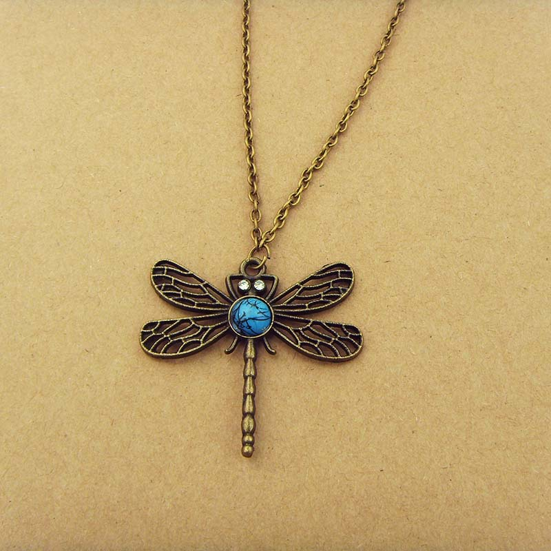 Game Of Thrones Necklace Song Of Ice And Fire Sansa Stark Vintage Dragonfly Pendant Necklace