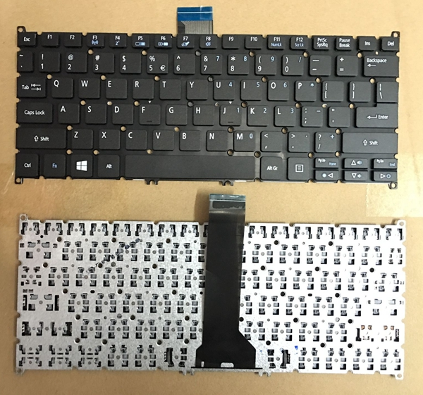 US Keyboard for Acer Aspire V5-122 V5-122P V5-132 132P V13 V3-371 E11 E3-112 E3-111 English laptop keyboard without Backlit new us keyboard for acer aspire vn7 793g vx5 591g vx5 591g 52wn us laptop keyboard with backlit