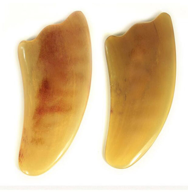 все цены на AddFavor Natural Ox Horn Body Gua Sha Tools Scraping Health Care Guasha Massage Pad Neck Back Massager Face Body Therapy Tool онлайн