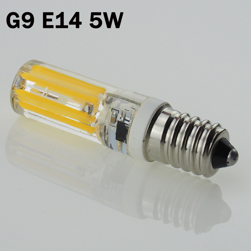 g9 e14 led ac220v 5w dimmable led lamp 2809 smd cob. Black Bedroom Furniture Sets. Home Design Ideas