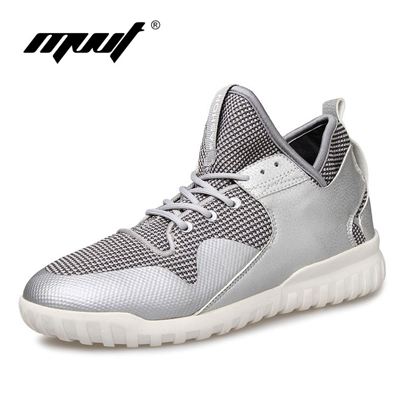 2016 quality men running shoes Breathable mesh uppers men sport shoes outdoors 39 44