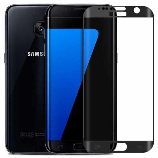 ثلاثية الأبعاد غطاء كامل قسط الزجاج المقسى لسامسونج غالاكسي S6 S7 حافة زائد واقي للشاشة HD طبقة رقيقة واقية