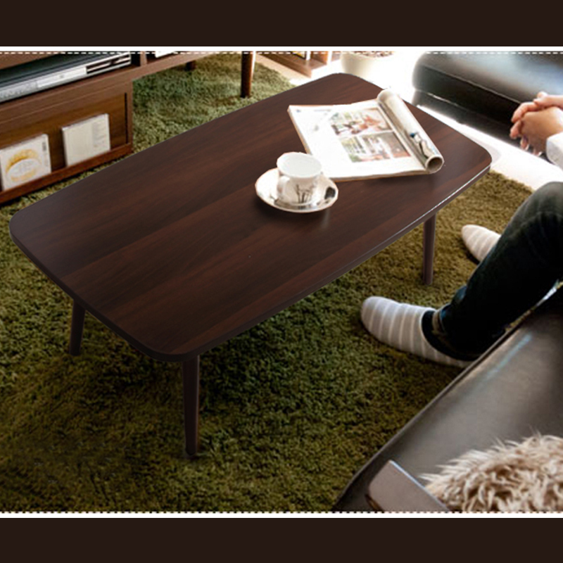 simple retro wood folding coffee table ikea rounded edge square