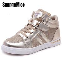 2016 Breathable Children Shoes Girls Shoes New Brand Kids Leather Sneakers Sport Shoes Fashion Casual Children
