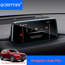 QCBXYYXH For Mazda CX-5 2017-2018 Car Styling Car Dashboard Paint Protective Glass Film Light transmitting 9H Scratchproof