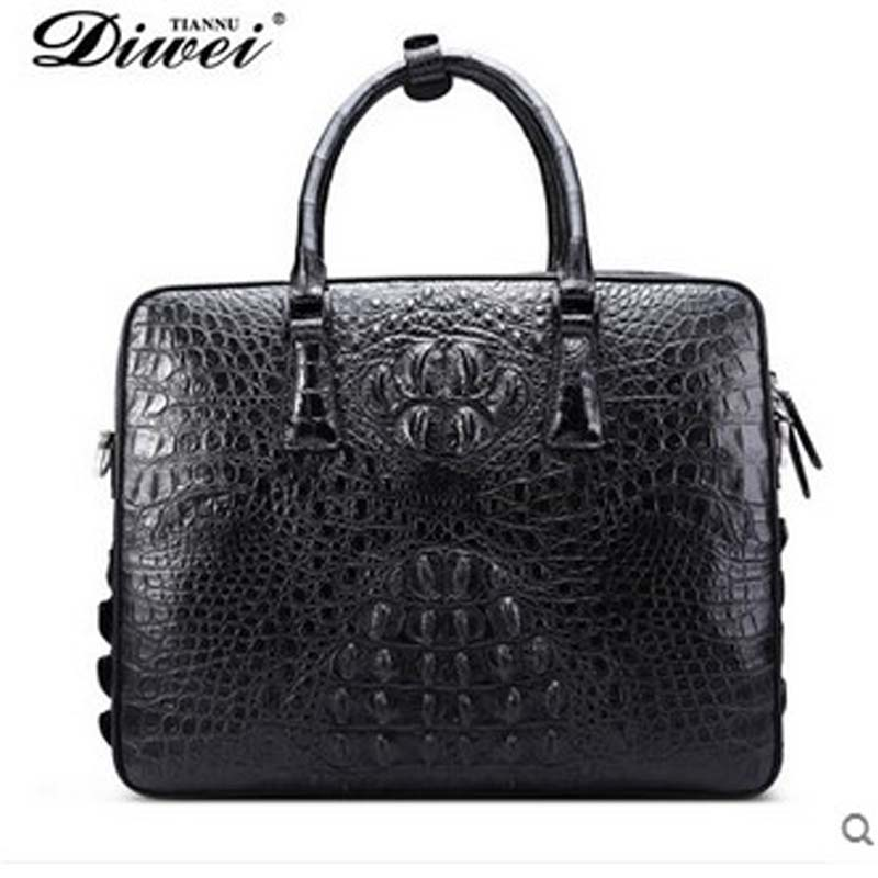 diwei male crocodile men handbag single shoulder inclined across business leisure bag cross section quality goods men handbag business across borders