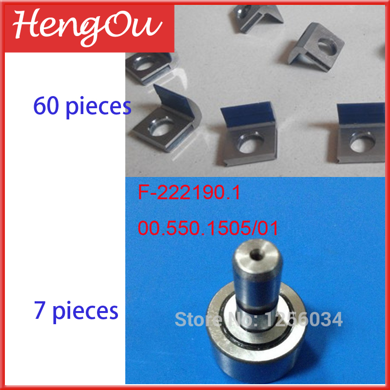 M4.011.727 - 60 pieces, 00.550.1505 - 7 pieces, total usd290. DHL free shipping