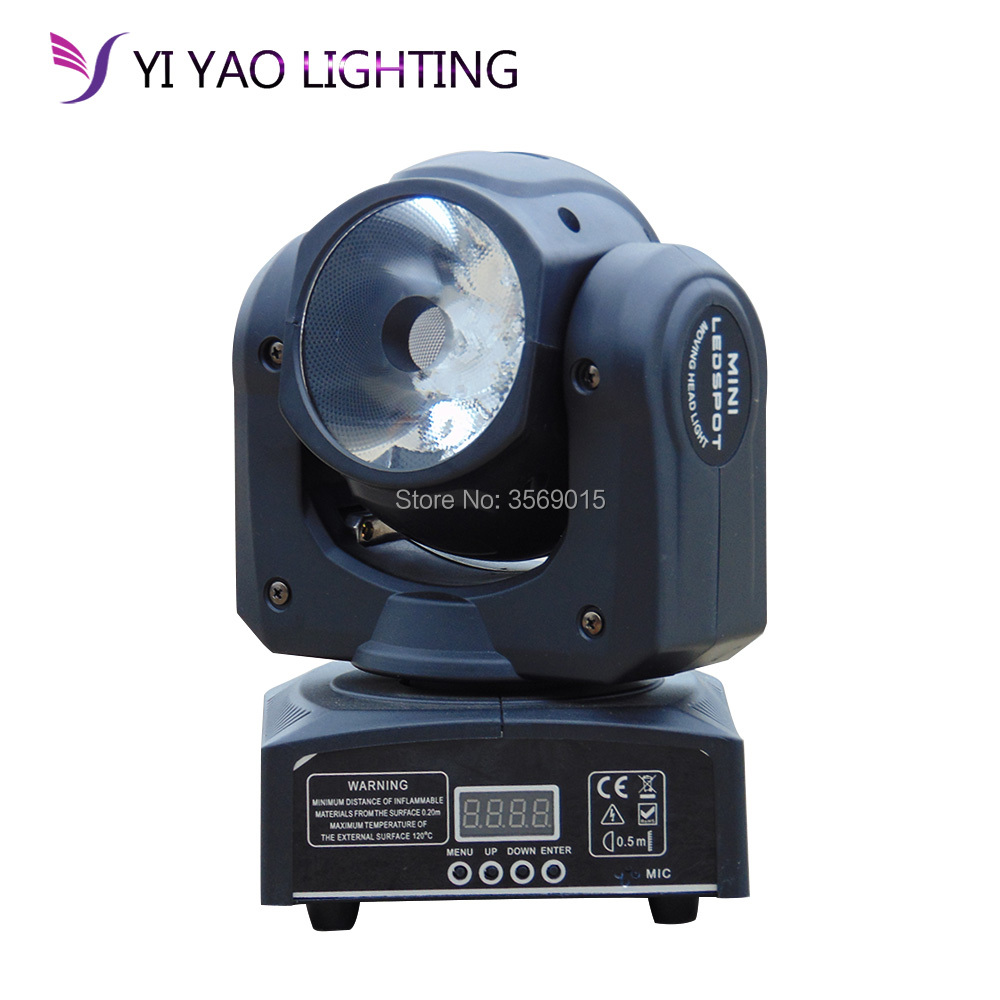 Mini Moving Head Stage Light RGBW 4in1 DMX512 Beam Spot LED Lighting Effect 10/13 CH for DJ Disco Club Party discount price 8 pack 180w 2r sharpy beam spot moving head light dmx512 for stage lighting dj disco club party dance wedding bar
