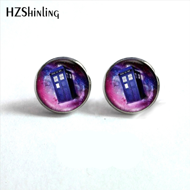 Detail Feedback Questions about NES 00103 Doctor Who Box Earrings Dr ...
