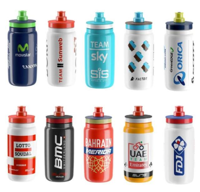 Original Shimano Elite Water Bottle New Model 500ml Tour De France Team Edition Bicycle