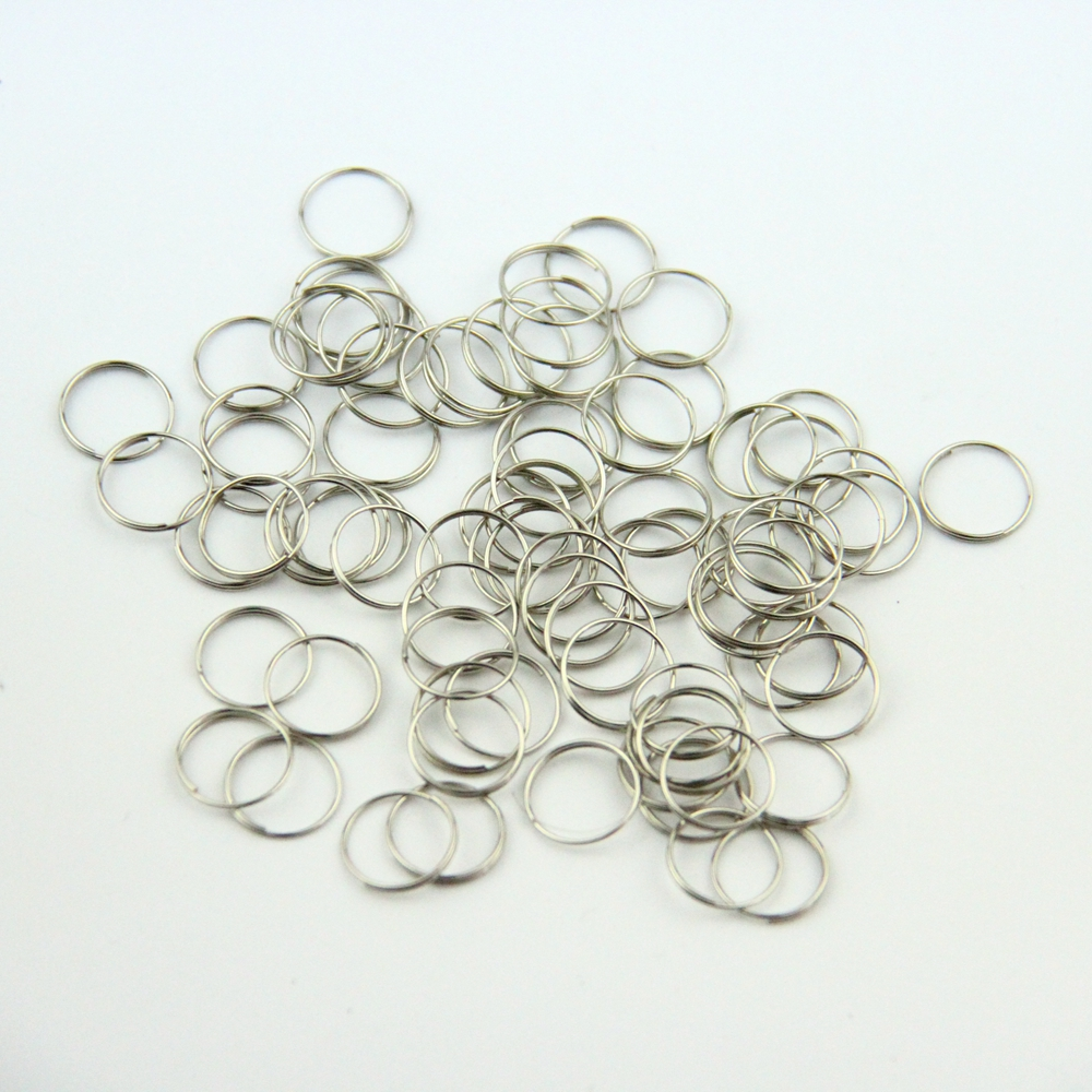 Image 2 - 10000pcs/lot ,12mm Crystal Chandelier Connector Of Metal Rings Lamp Parts Connector Metal connectors-in Connectors from Lights & Lighting