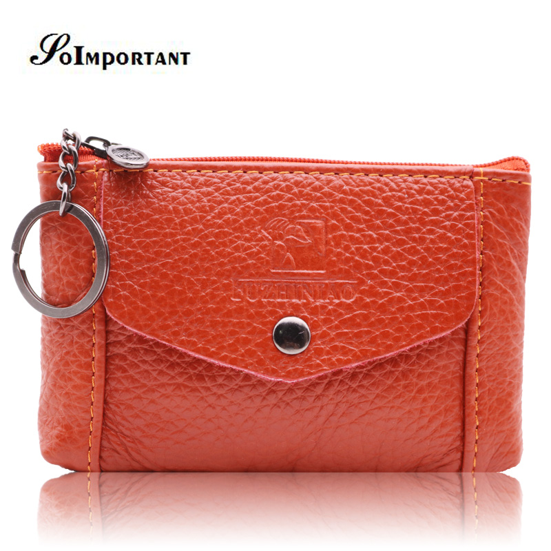 Genuine Leather Wallet Female Small Women Wallets Coin Purse Credit Card Holder Magic Wallets Women Purse