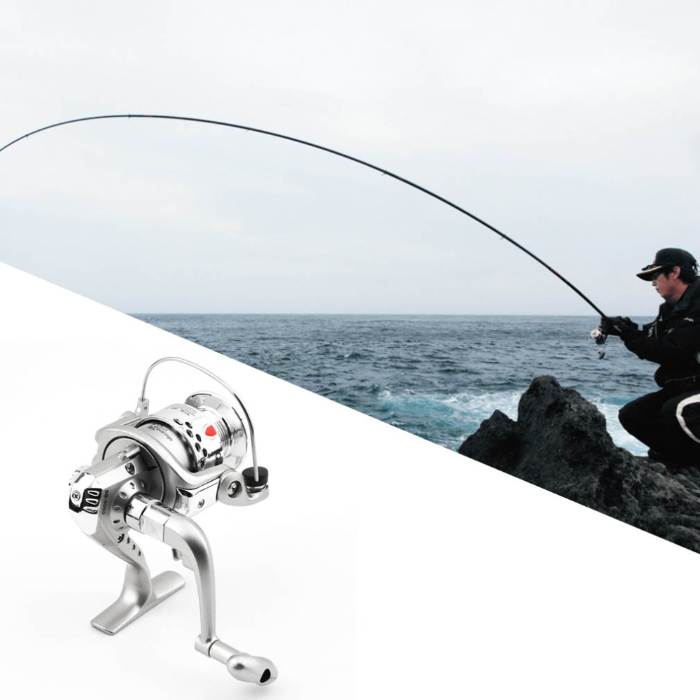 6BB Ball Bearings Left/Right Fishing Reel Interchangeable Collapsible Handle Fishing Spinning Reel SG3000 5.1:1 Top Sale