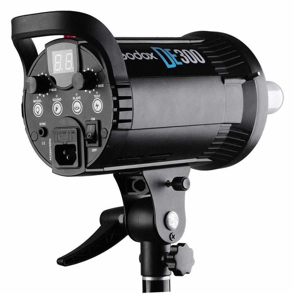 Godox DE300 300W Kompakte Studio Flash Licht Strobe Beleuchtung Lampe Kopf 300Ws 220V GN58 5600K - 3