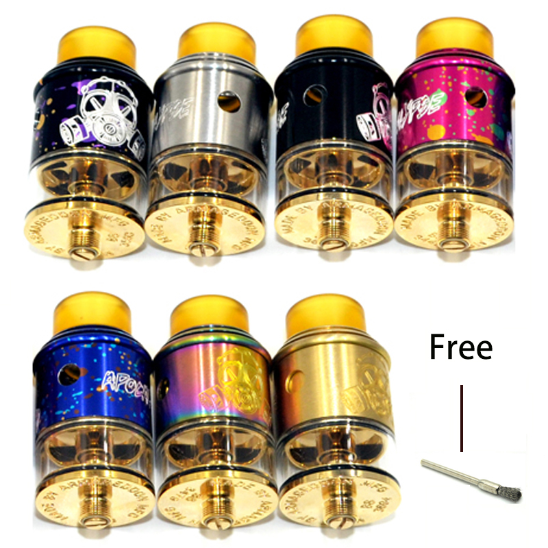 Apocalypse GEN 2 RDTA TANK electronic cigarette mods rebuildable dripping atomizer for 510 vape Pen tank RDA rta e cigarette