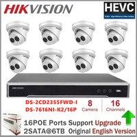 Hikvision 5MP IP Camera System Security Video Surveillance Cameras CCTV IR Fixed Turret Network Camera POE P2P H.265 Plug & Play