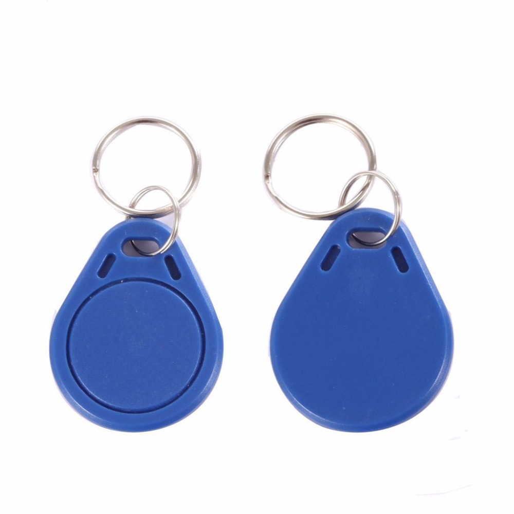 OBO HANDS Access Control 13.56MHz Smart IC Blue MF Classic® 1K M1 Proximity Induction Tags Keychain (pack of 100) кабели межблочные аудио tchernov cable classic mk ii ic rca 1 65m