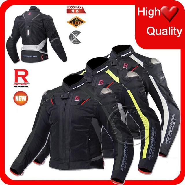 US $195.0 |2015 komine mesh Breathable men Racing Suit motorcycle jackets race chaqueta moto jaqueta motocross clothing Jacket blouson on