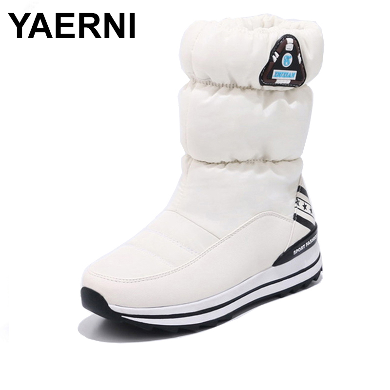 Office & School Supplies Liberal Yaerni Women Boots 2018 New Arrivals High Quality Thicken Plush Winter Shoes Fashion Women Snow Boots Platform Women Shoes E664