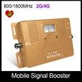 Real smart 2g + 4g de refuerzo! DOBLE BANDA 800/1800 mhz, gran cobertura LTE DCS amplificador celular solo repetidor