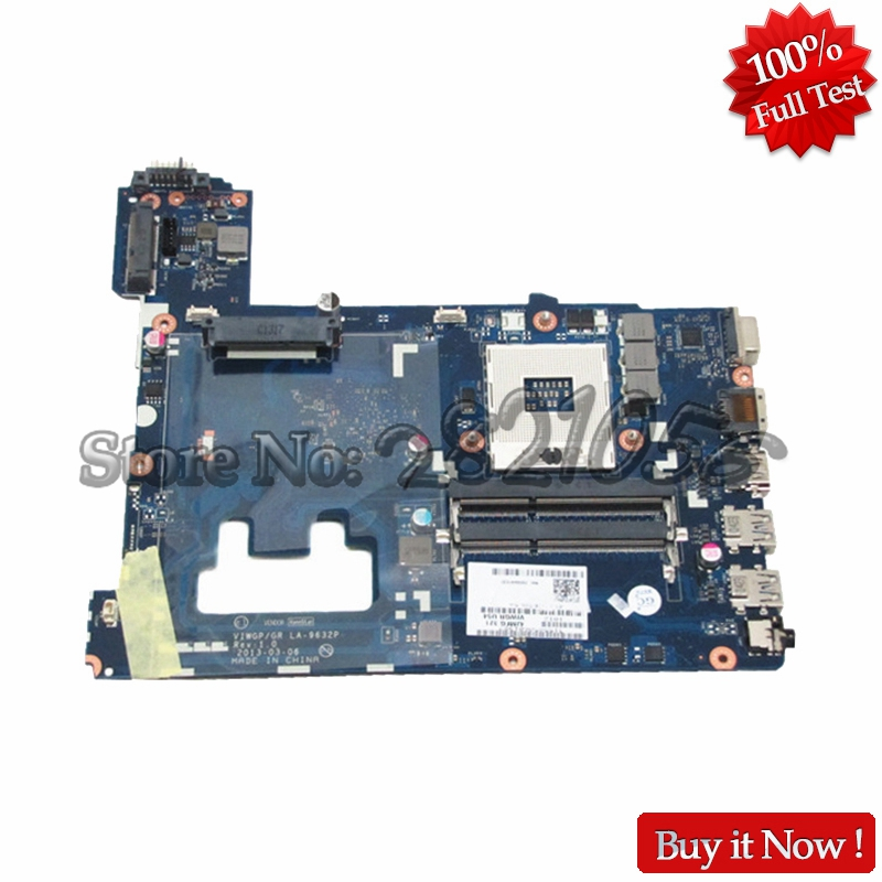 NOKOTION Laptop Motherboard For Lenovo Ideapad G500 Main Board System Board VIWGP/ GR LA-9632P HM70 DDR3 nokotion notebook pc motherboard for lenovo ideapad g500 main board system board viwgpgr la 9632p hm76 ddr3