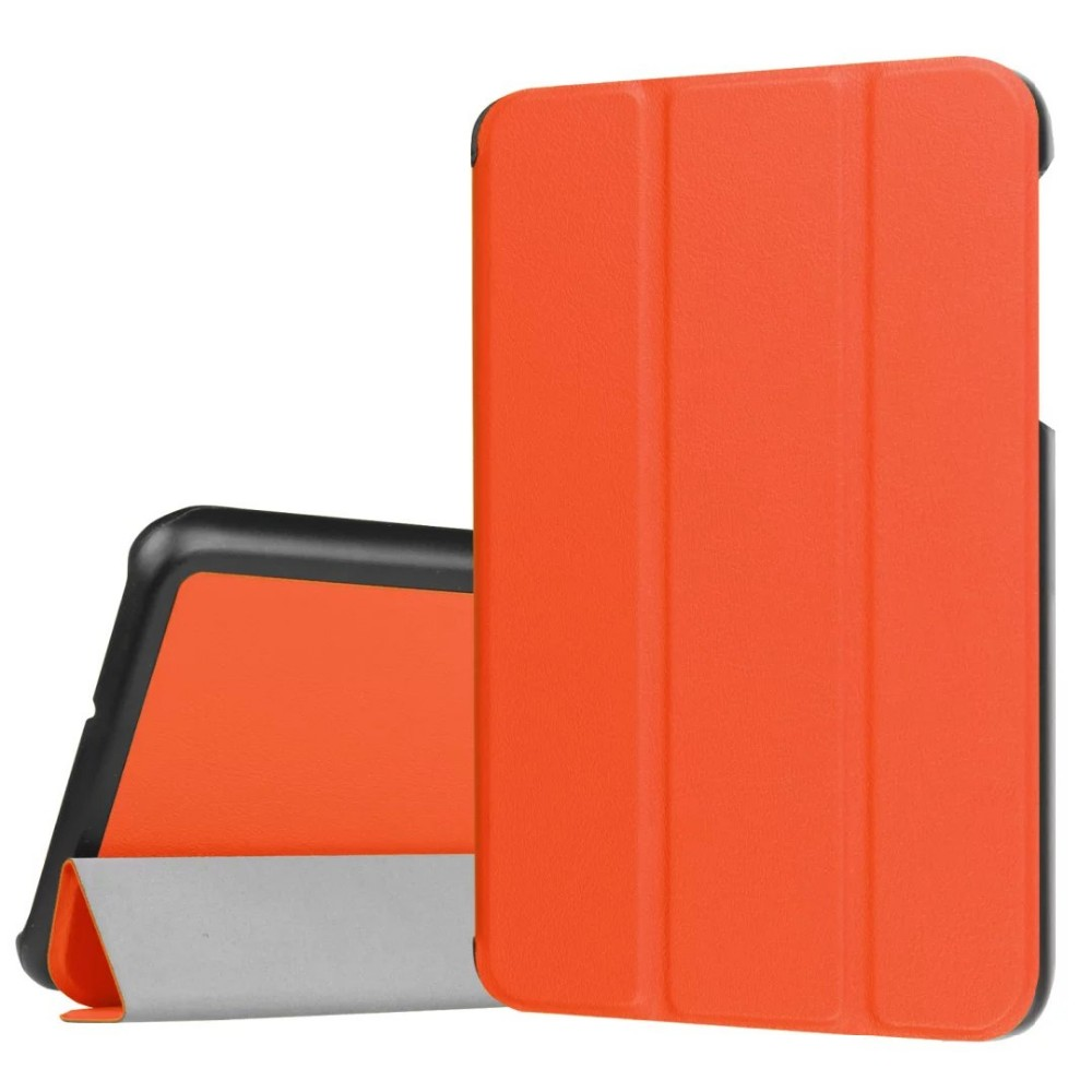 200Pcs/Lot Ultra Lightweight Slim-Shell Stand Folio Flip Case Cover For Samsung Galaxy Tab J(T285DY) 7-Inch Tablet