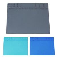 405 305 Mm Silicone Heat Insulation Maintenance Pad Electronic Repair Tool Mat Electronic Repair Desk Mat