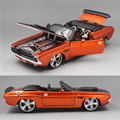 Maisto 1:24 Diecast Dodge Charger R/T 1969/1970 Version Fast and Furious Character Classical Musle Car Model Collection