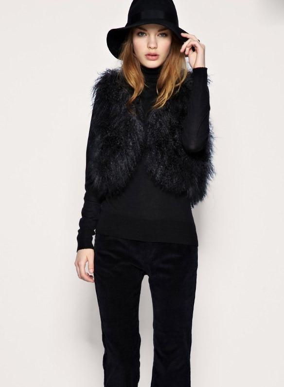 Short Faux Fur Coat Black - Tradingbasis - Faux Fur Black Coats Down Coat