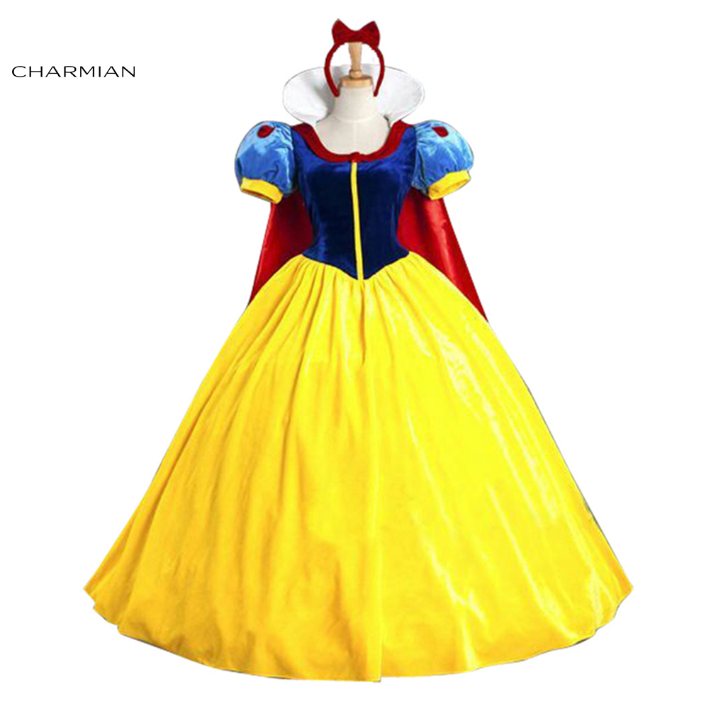 Charmian Halloween Costume for Women Snow White Costume ...