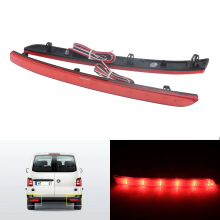 ANGRONG 2X LED Rear Bumper Reflector Brake Light Lamp For VW T5 Transporter Multivan Caravelle очки 3d palmexx px 101plus 3d px 101 dlp link