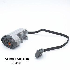 Image 1 - ETFOM MOC Technic Parts 1 шт. силовые функции Серводвигатель совместим с lego для мальчиков игрушка (99498)