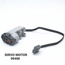 ETFOM MOC Technic części 1 sztuk funkcje zasilania silnika serwo kompatybilne z lego dla chłopców zabawki (99498)