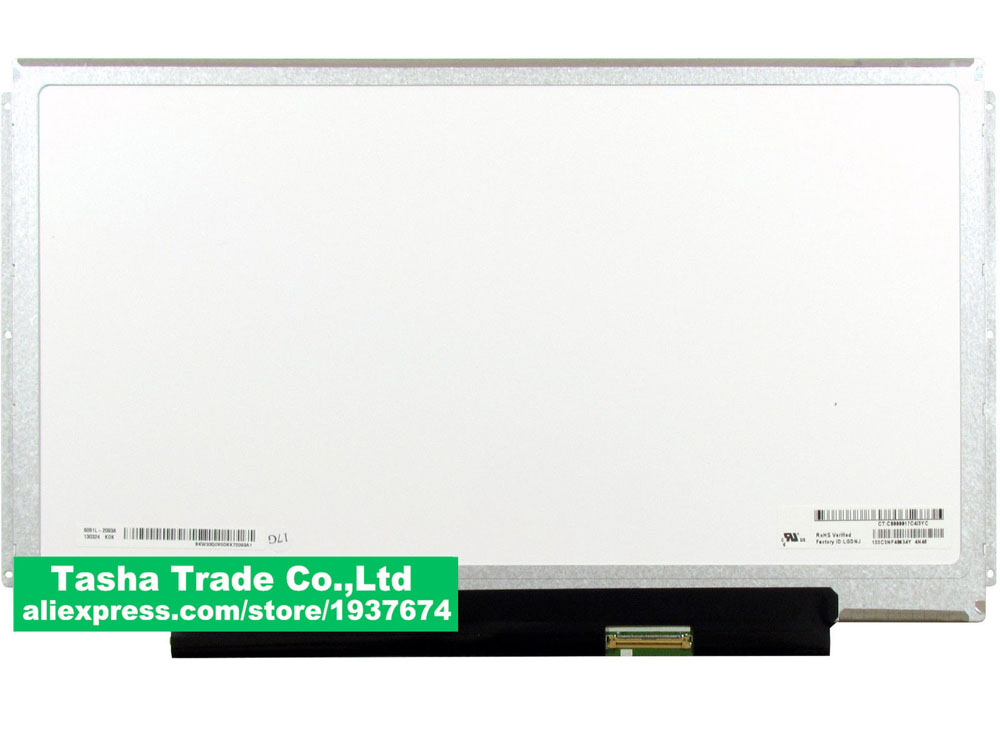цена B133XW01 V4 B133XW01 V.4 Laptop LCD Screen Panel Display Screen Glossy LVDS 40pin 1366*768 Original New онлайн в 2017 году