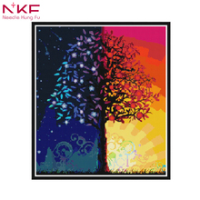 Trees Scenery Full Square/ Round Diamond Painting Cross stitch crystal Wall new arrival DIY Crystal full drill