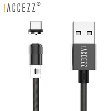 !ACCEZZ Magnetic Usb Charging Cable Type C Magnet Charge For Samsung Galaxy S8 S9 S10 Huawei P30 Honor V20 8X LG Xiaomi 9 8 7 6