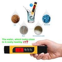 Высокое качество воды TDS прибор для измерения радиочастотного диапазона 0-9999ppm метр для тестирования Чистота воды твердость LG66