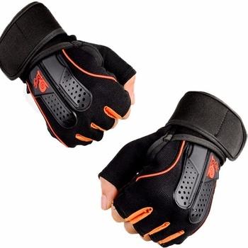 Siłownia kulturystyki rękawice treningowe do ćwiczeń sprzęt sportowy podnoszenie ciężarów do treningów i ćwiczeń oddychający okład na rękę dla mężczyzn tanie i dobre opinie Podnoszenie ciężarów rękawice SPO1851601