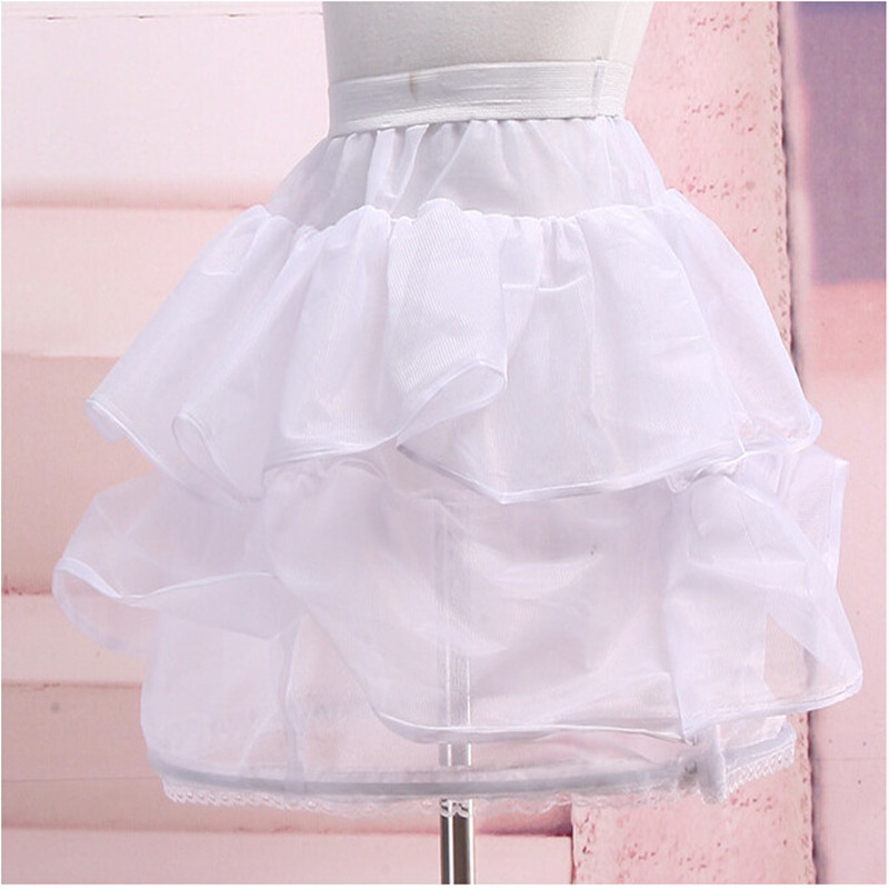 Children Performance Of The Short Dress Shows T With A Skirt Stand Flower Girl Wedding Party Banquet Wave Embroidered Dress
