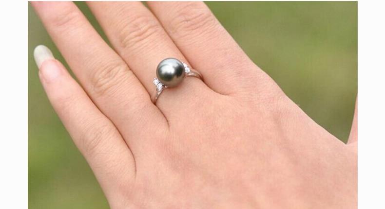 ZHBORUINI μόδα μαργαριτάρι δαχτυλίδι - Κοσμήματα μόδας - Φωτογραφία 5