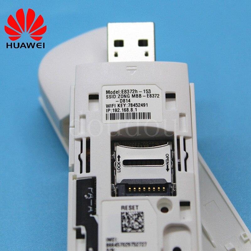 Débloqué nouveau Huawei E8372 E8372h-608 E8372h-153 avec antenne 4G LTE 150 Mbps WiFi Modem 4G USB Modem Dongle 4G Carfi Modem - 6