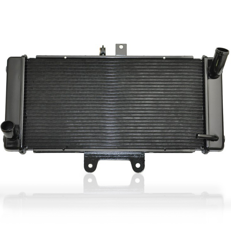 Motorcycle Engine Radiator Assy Aluminium Replace Cooling Cooler For SUZUKI Bandit 650 GSF650S GSF650 2007 2016 Motorbike Parts