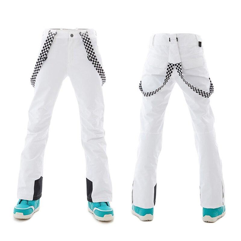 Pantalon ski femme pantalon snowboard hiver femme extérieur coupe vent imperméable pantalon chaud pantalon neige pantalon snowboard - 4